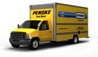 photo of Penske truck