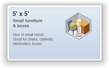 Picture of 5 by 5 Unit