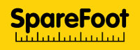 The SpareFoot logo. Courtesy of SpareFoot.
