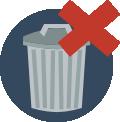 storage for garbage