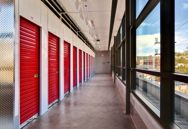 indoor self-storage facility