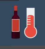red wine storage temperature
